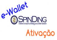 SpinDing activar e-wallet
